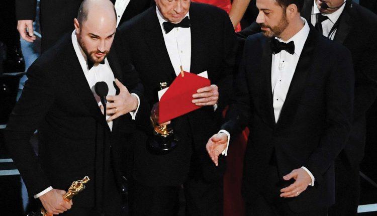 Konfuzija na dodjeli Oskara