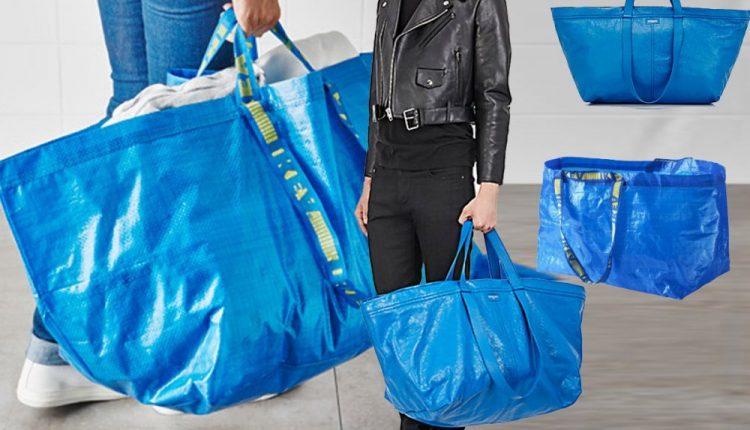 Ikea ima odgovor na skupu kopiju svoje plave torbe – i prezabavan je