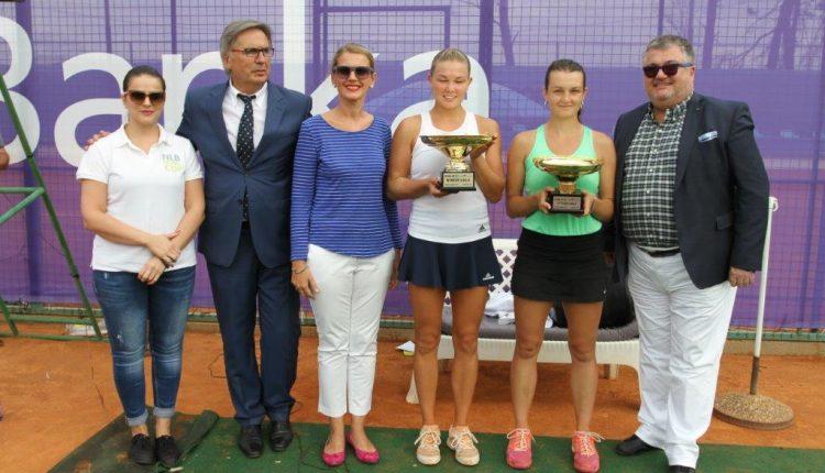 """Glavni izvršni direktor NLB Banke uručio trofej pobjednici teniskog turnira """"NLB  Royal Cup 2017"""""""