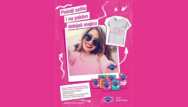 Pošalji selfie i na poklon dobijaš majicu