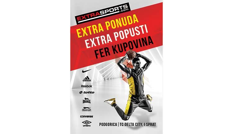 Extra Sports u Podgorici