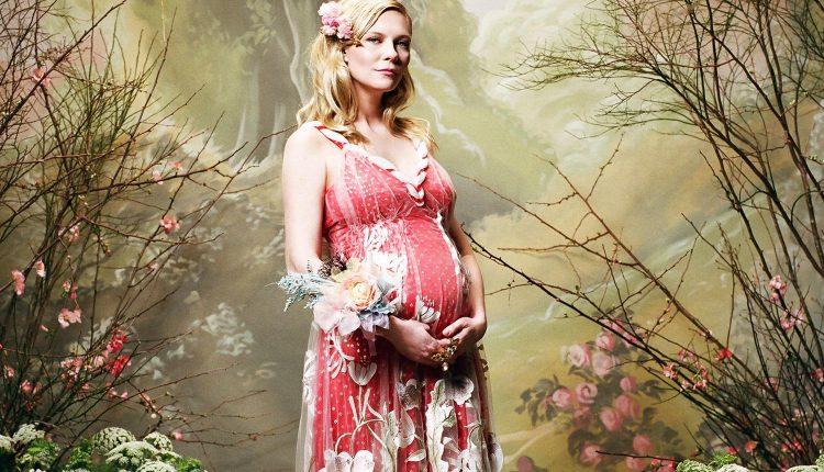 Trudna Kirsten u modnoj kampanji