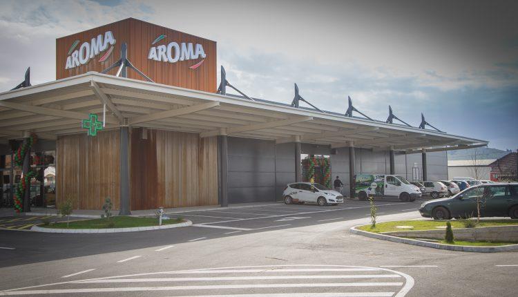 Otvoren Tržni centar Aroma u Donjoj Gorici