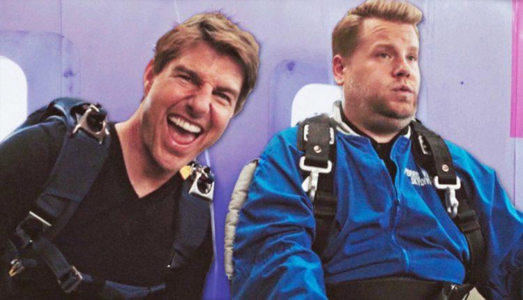 Tom Kruz natjerao voditelja na skok padobranom