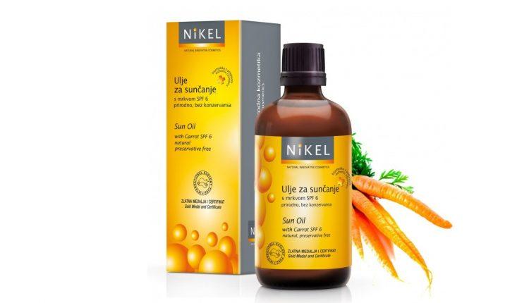 Nikel ulje za sunčanje sa šargarepom SPF 6