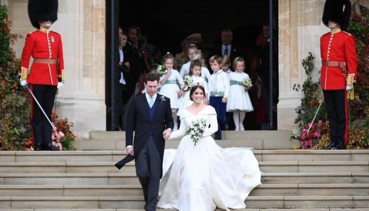 Vjenčanje princeze Eugenije od Jorka