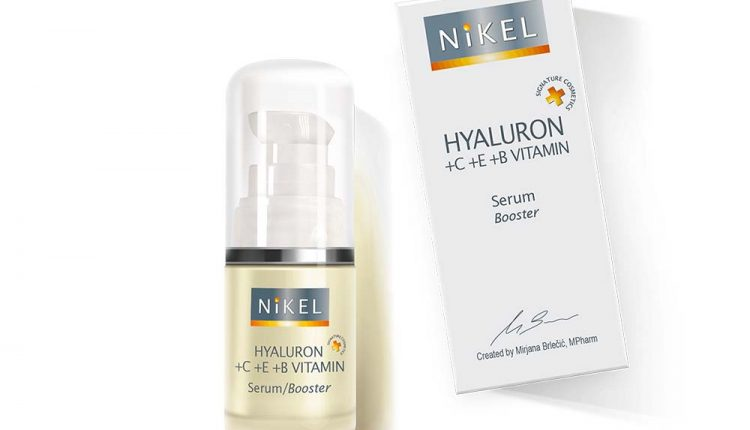 NIKEL HYALURON+C+E+B VITAMIN BOOSTER