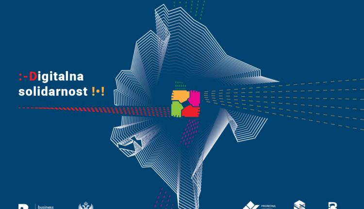 Pokret Digitalna solidarnost ojačava crnogorsku poslovnu zajednicu:  DIGITALNI SERVISI ZA CRNOGORSKE PRIVREDNIKE – BESPLATNO