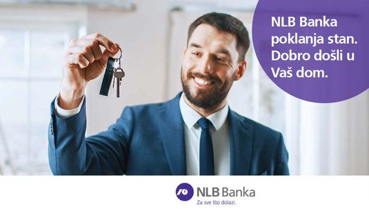NLB Banka poklanja stan – izvlačenje dobitnika 10.04.2020. u 18:20 časova