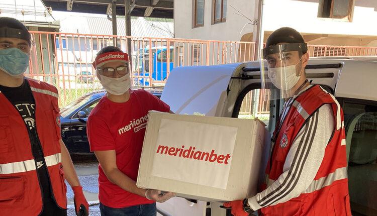 Meridianbet donirao maske i rukavice na sjeveru Crne Gore!