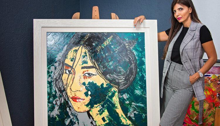 Orijana Ubović: Moj likovni rukopis je dio moje ličnosti