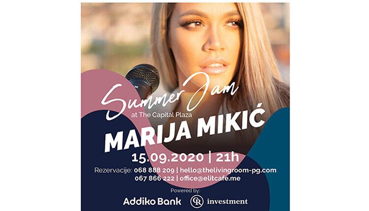 Marija Mikić još jednom na Summer Jamu zbog velikog interesovanja