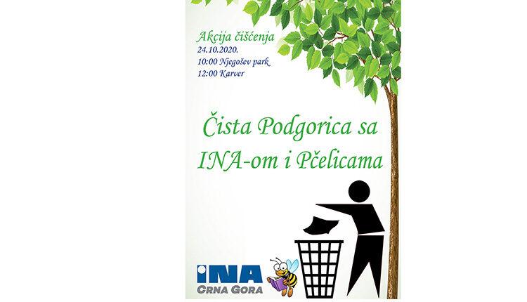 Čista Podgorica sa INA-om i Pčelicama