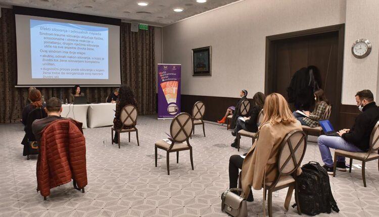 Izvještavanje medija o rodno zasnovanom nasilju nad ženama da ima informativni i edukativni karakter