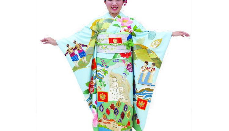 Crnogorski kimono u Japanu