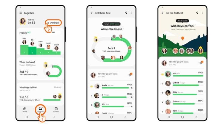 Takmičite se sa prijateljima i zajedno prepješačite 78 milijardi koraka na Samsung Health aplikaciji