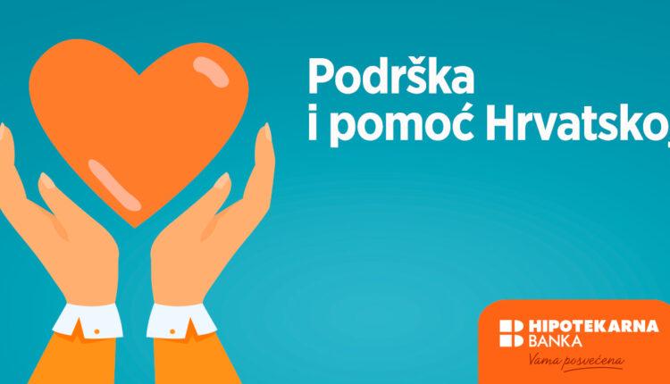 10.000 eura od Hipotekarne banke za pomoć stanovnicima Hrvatske