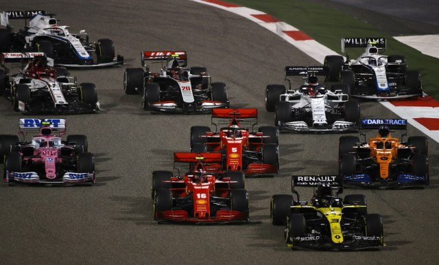 Odložen start sezone Formule 1