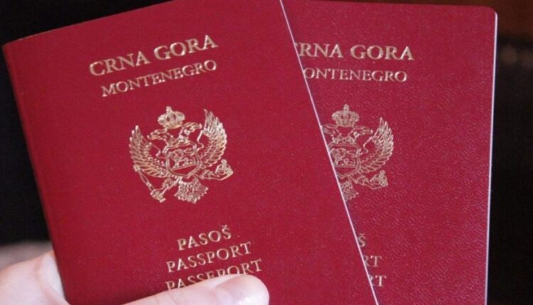 Mijenjaju se pravila za crnogorske pasoše