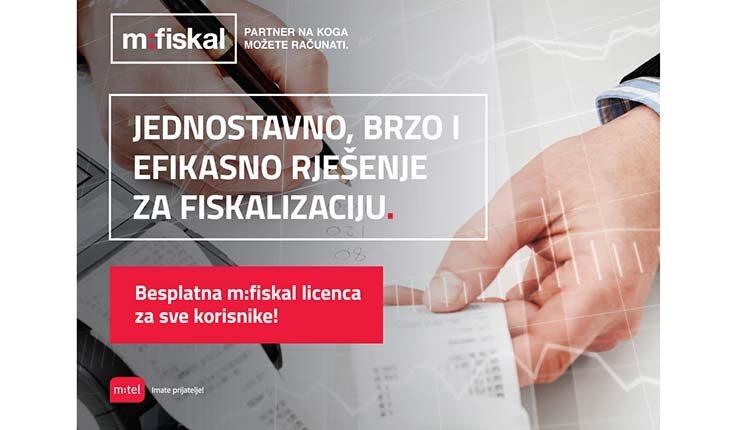 M:tel ima sve što vam treba, uz besplatnu m:fiskal  licencu do 1. jula 2021!