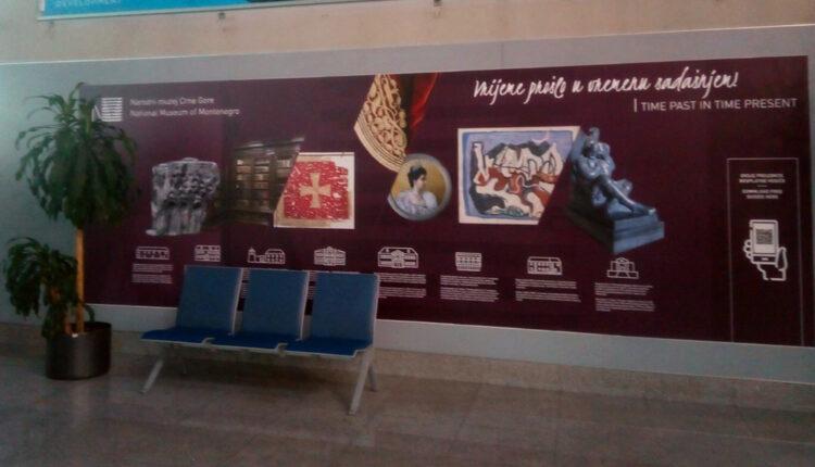 Sadržaji Narodnog muzeja predstavljeni na crnogorskim aerodromima