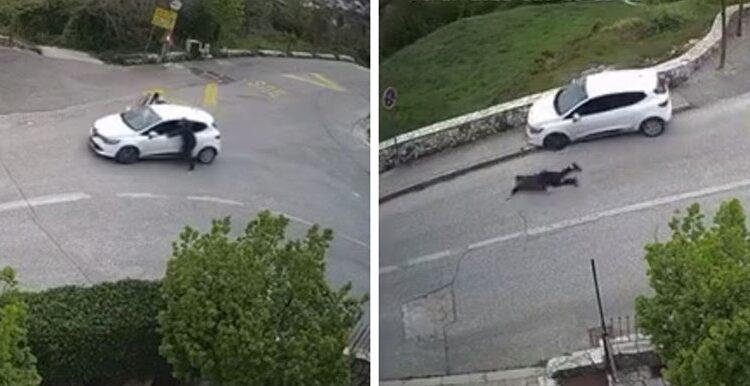 Snimak dvojice likova kako guraju auto postala hit, odmah ćete vidjeti zašto