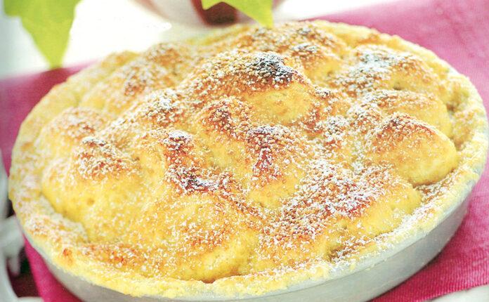 Torta od jabuka s limunom
