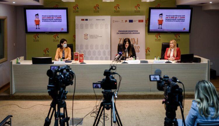 ZZZ objavio treći Javni poziv za dodjelu bespovratnih sredstava za samozapošljavanje iz fondova EU