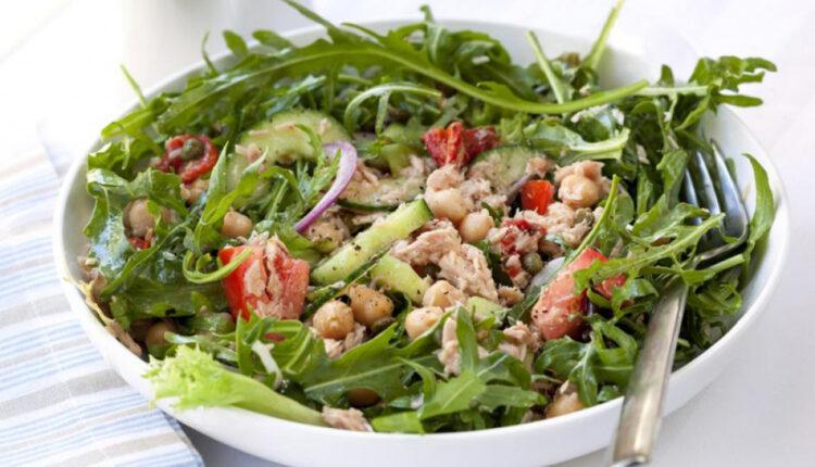 Proljećna salata s tunom