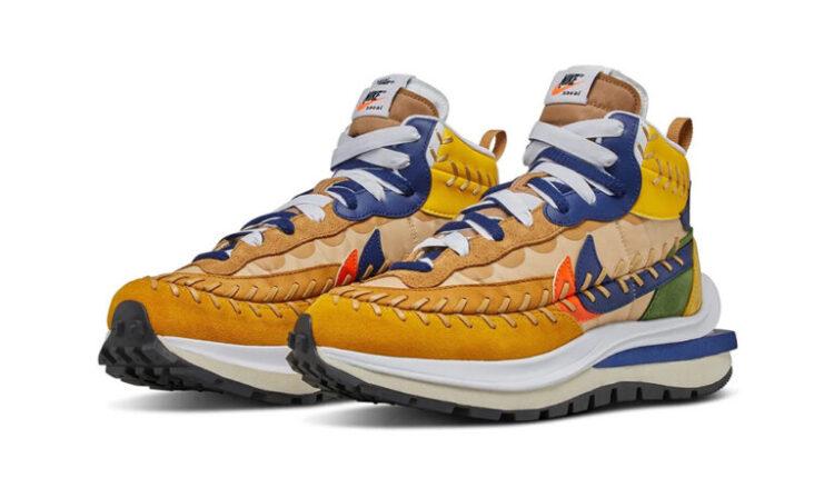 Sacai + JPG + Nike = VaporWaffles