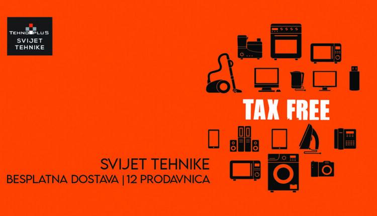 Tax Free kupovina, mogućnost za super uštedu!