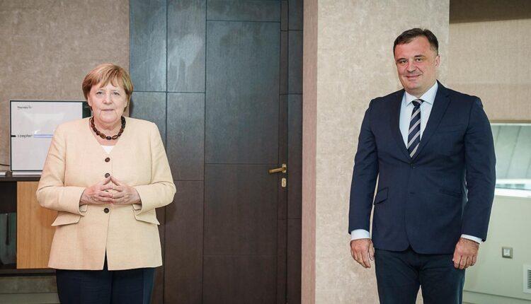 Vujović razgovarao sa Merkel o glavnim izazovima sa kojima se suočavaju crnogorsko društvo i civilni sektor